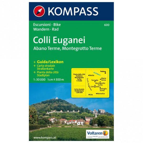 Kompass - Colli Euganei - Vaelluskartat