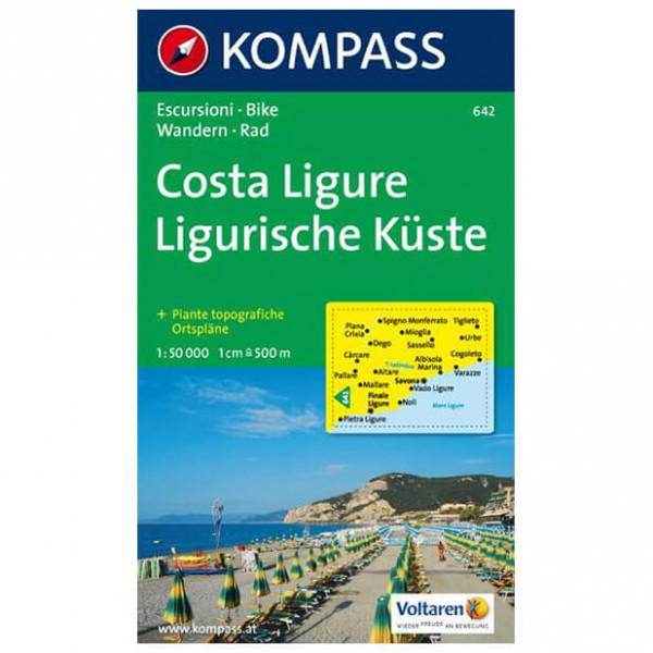 Kompass - Costa Ligure - Hiking Maps