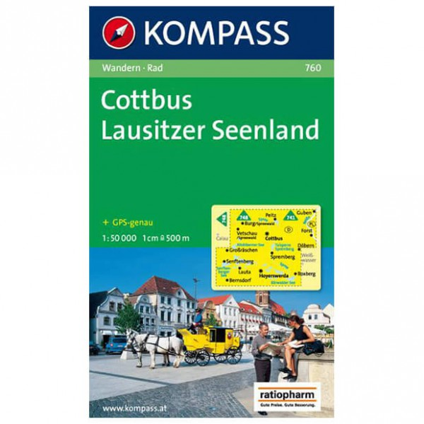 Kompass - Cottbus - Vaelluskartat