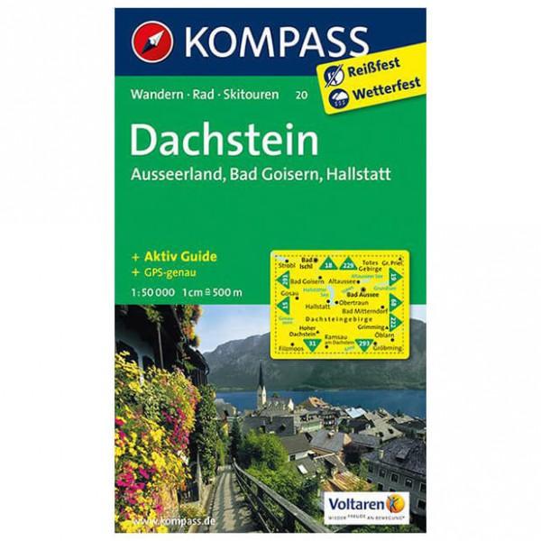 Kompass - Dachstein - Hiking map