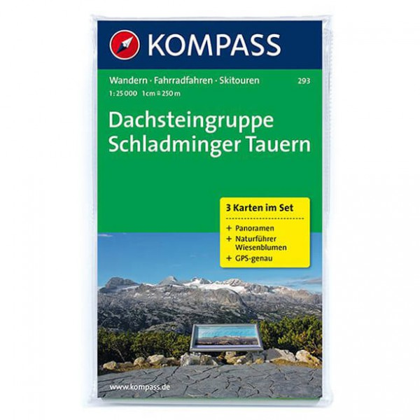 Kompass - Dachsteingruppe - Cartes de randonnée