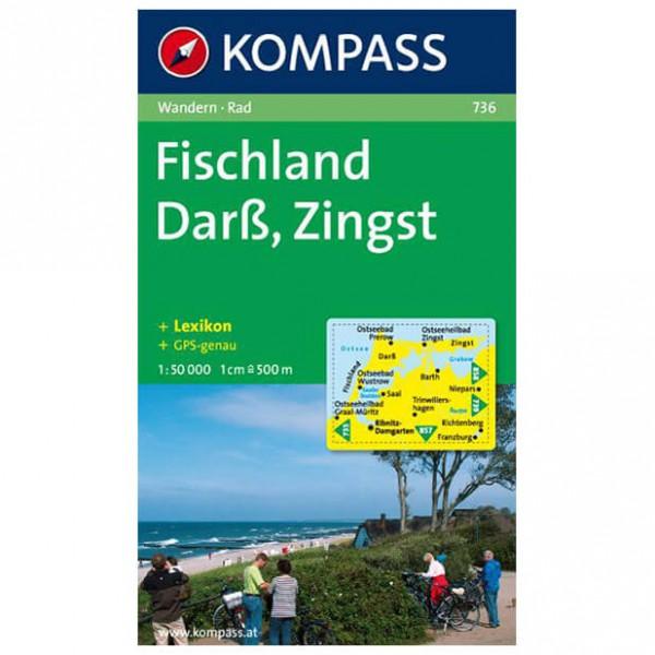 Kompass - Darss - Cartes de randonnée