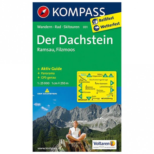 Kompass - Der Dachstein - Hiking map