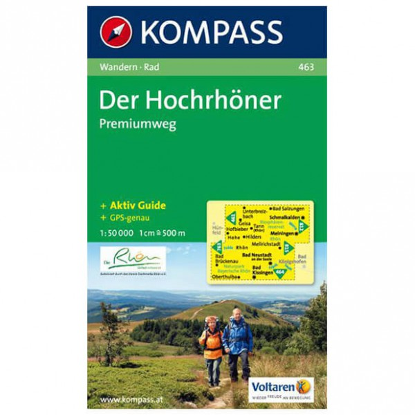 Kompass - Der Hochrhöner - Wanderkarte