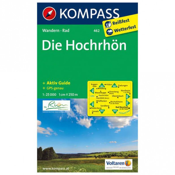 Kompass - Die Hochrhön - Hiking Maps