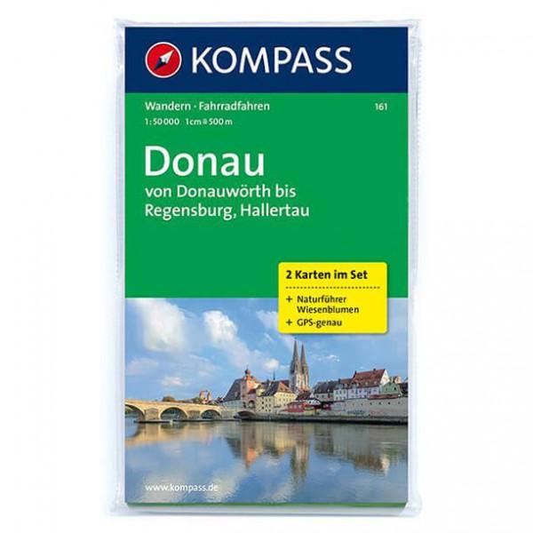 Kompass - Donau - Wanderkarte
