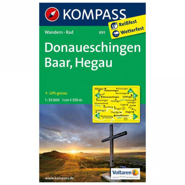 Kompass - Donaueschingen - Vaelluskartat