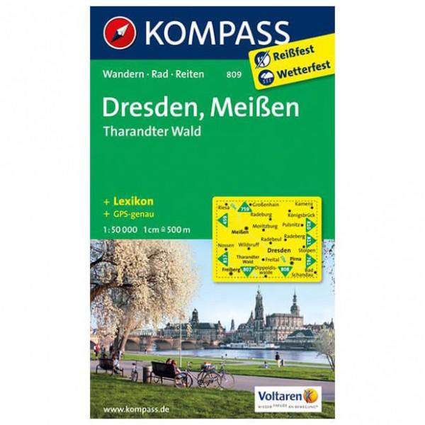 Kompass - Dresden - Wanderkarte