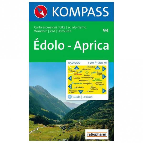 Kompass - Edolo - Carte de randonnée