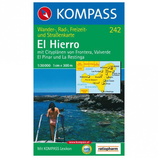 Kompass - El Hierro - Hiking Maps