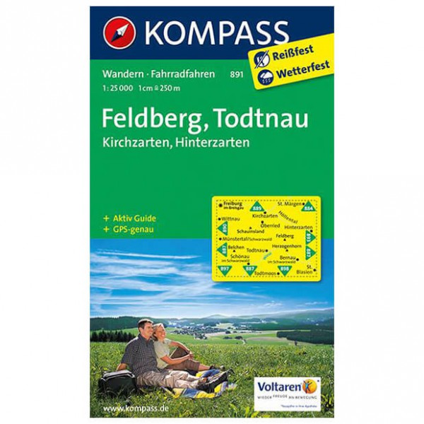 Kompass - Feldberg - Wandelkaarten