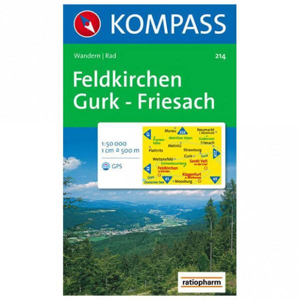 Kompass - Feldkirchen - Hiking Maps