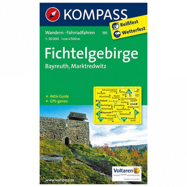 Kompass - Fichtelgebirge - Hiking Maps
