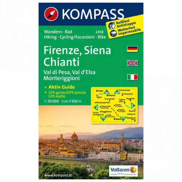 Kompass - Firenze - Vaelluskartat