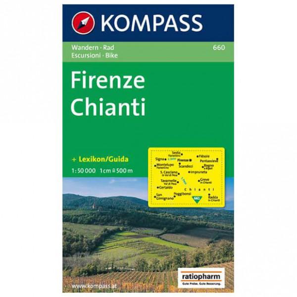 Kompass - Firenze /Chianti - Cartes de randonnée