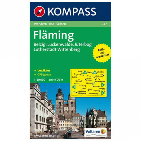 Kompass - Fläming - Hiking Maps