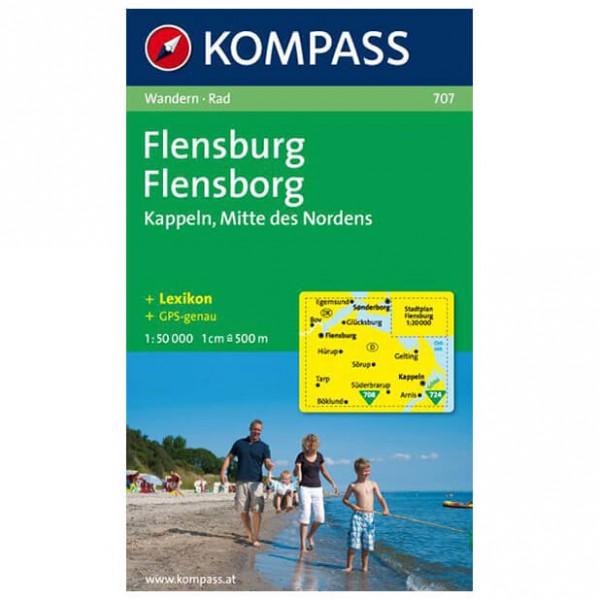 Kompass - Flensburg / Flensborg - Wanderkarte