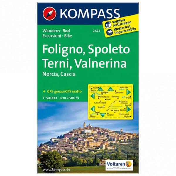 Kompass - Foligno - Wandelkaarten