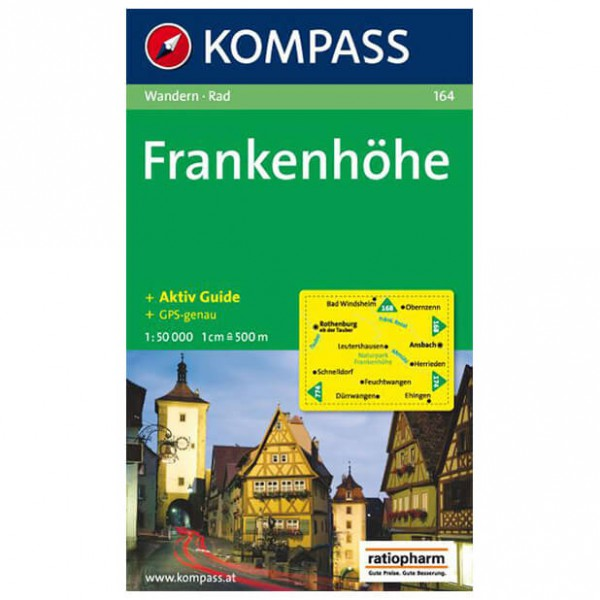 Kompass - Frankenhöhe - Hiking map