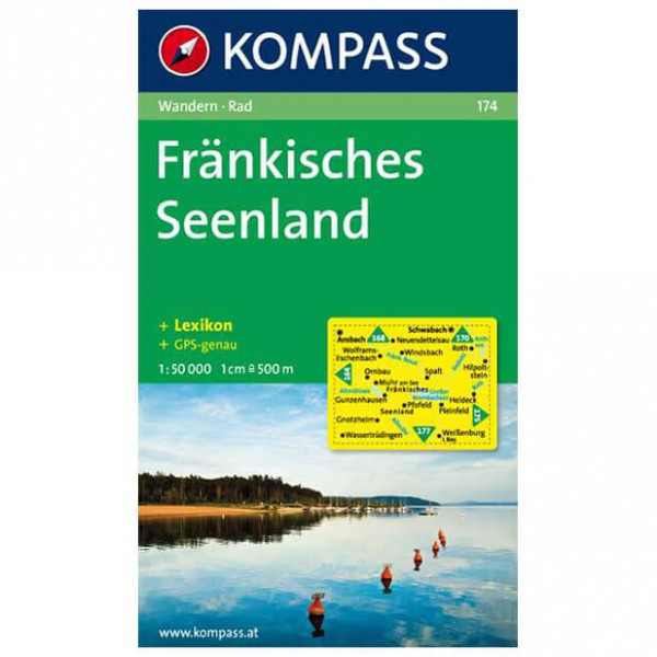 Kompass - Fränkisches Seenland - Vaelluskartat