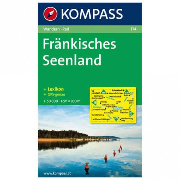 Kompass - Fränkisches Seenland - Wandelkaarten