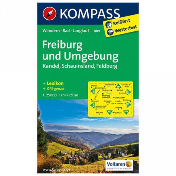 Kompass - Freiburg und Umgebung - Wandelkaarten