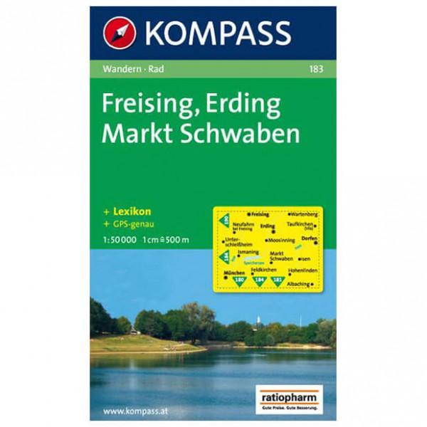 Kompass - Freising - Wandelkaart