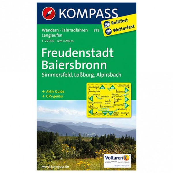 Kompass - Freudenstadt - Cartes de randonnée