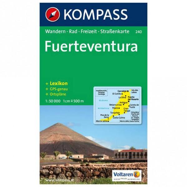 Kompass - Fuerteventura - Cartes de randonnée