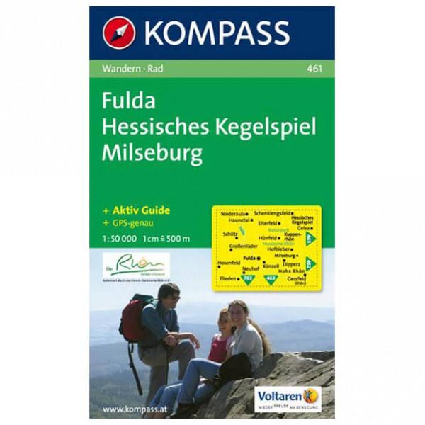 Kompass - Fulda - Carte de randonnée
