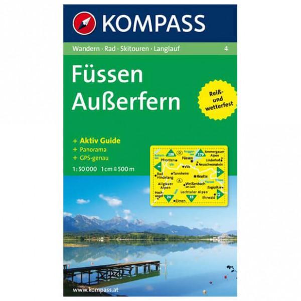 Kompass - Füssen - Wandelkaarten