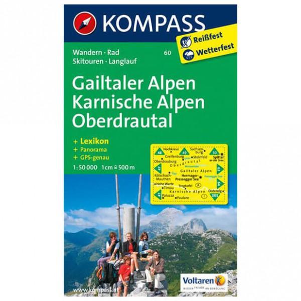 Kompass - Gailtaler Alpen - Carte de randonnée