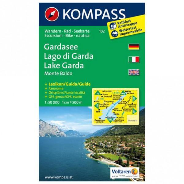 Kompass - Gardasee /Lago di Garda /Lake Garda /Monte Baldo - Hiking map