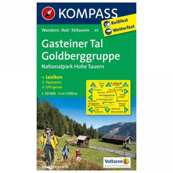 Kompass - Gasteiner Tal - Hiking Maps