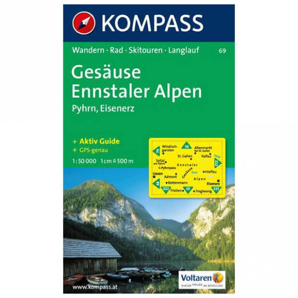 Kompass - Gesäuse - Hiking Maps