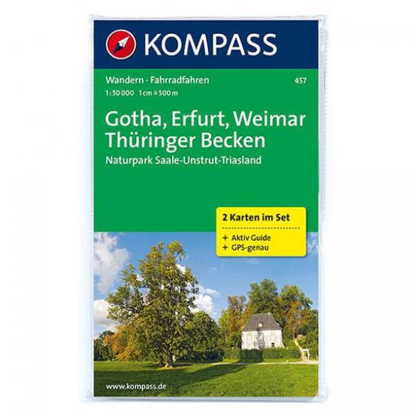 Kompass - Gotha - Cartes de randonnée
