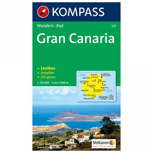 Kompass - Gran Canaria - Vandrekort