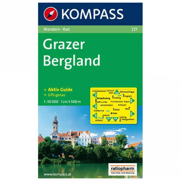 Kompass - Grazer Bergland - Hiking map