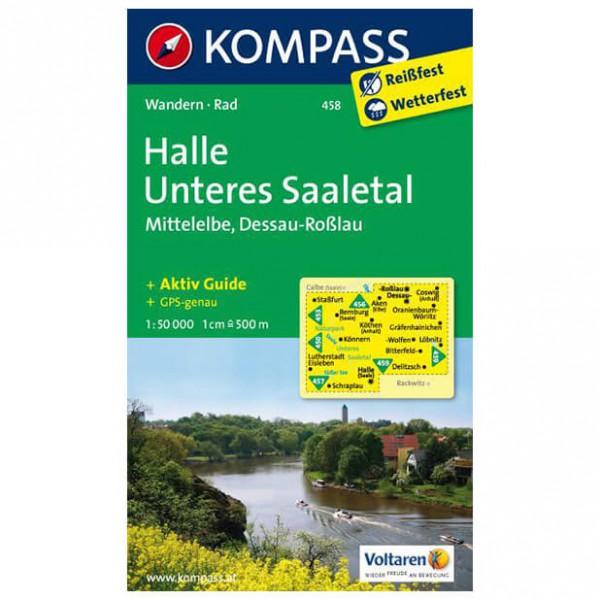 Kompass - Halle - Wanderkarte