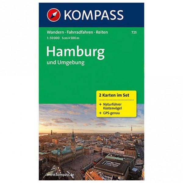 Kompass - Hamburg und Umgebung - Wanderkarte