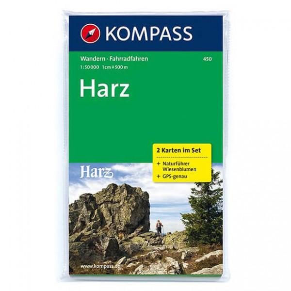 Kompass - Harz - Cartes de randonnée