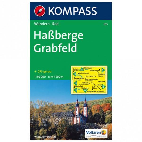 Kompass - Haßberge - Wanderkarte