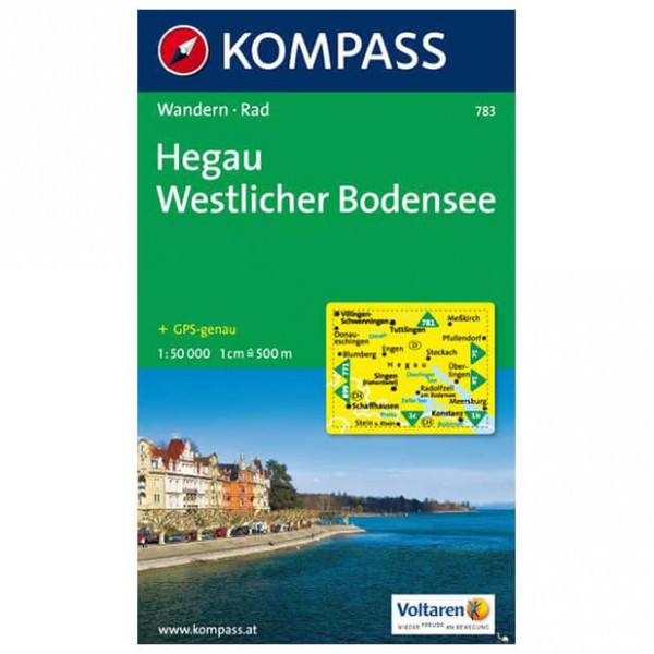 Kompass - Hegau - Vaelluskartat