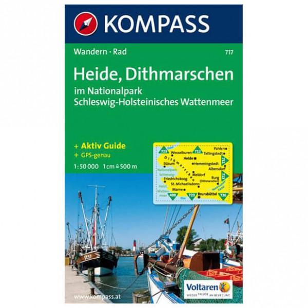 Kompass - Heide - Wanderkarte