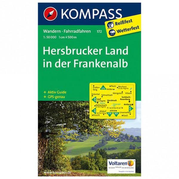 Kompass - Hersbrucker Land in der Frankenalb - Wandelkaarten