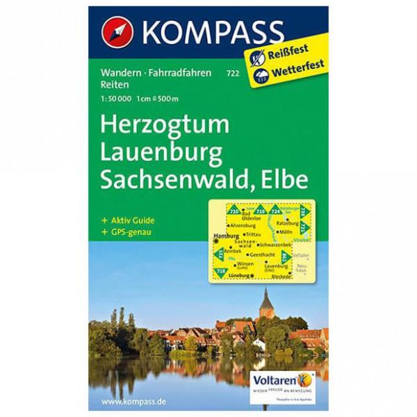 Kompass - Herzogtum Lauenburg - Carte de randonnée
