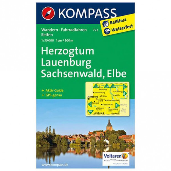 Kompass - Herzogtum Lauenburg - Wanderkarte