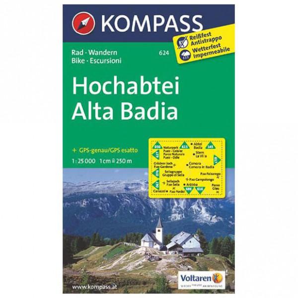 Kompass - Hochabtei - Wanderkarte