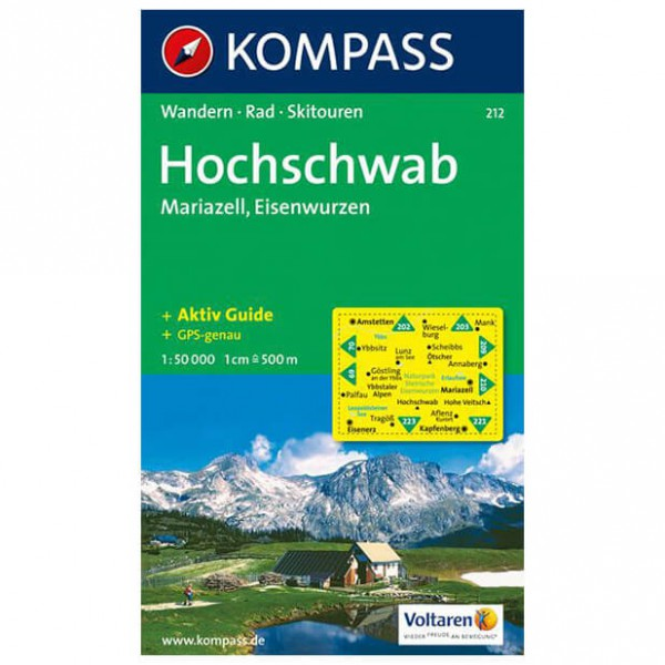 Kompass - Hochschwab /Mariazell - Wandelkaarten