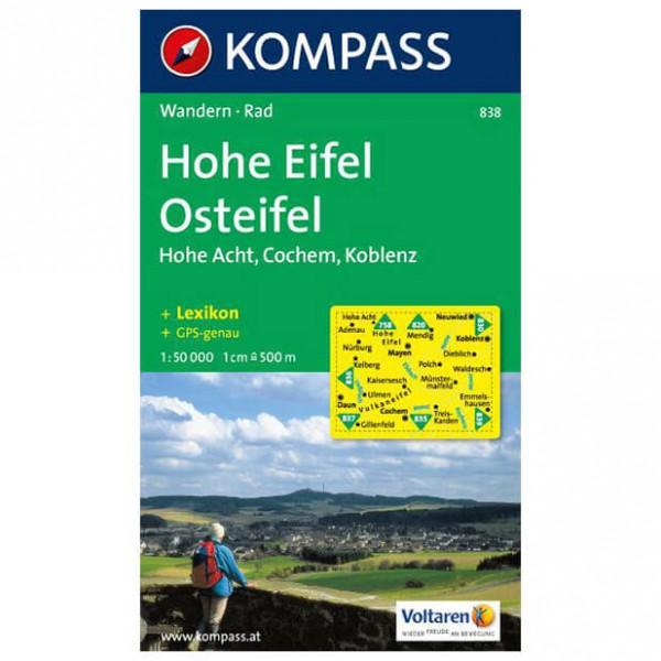 Kompass - Hohe Eifel - Cartes de randonnée